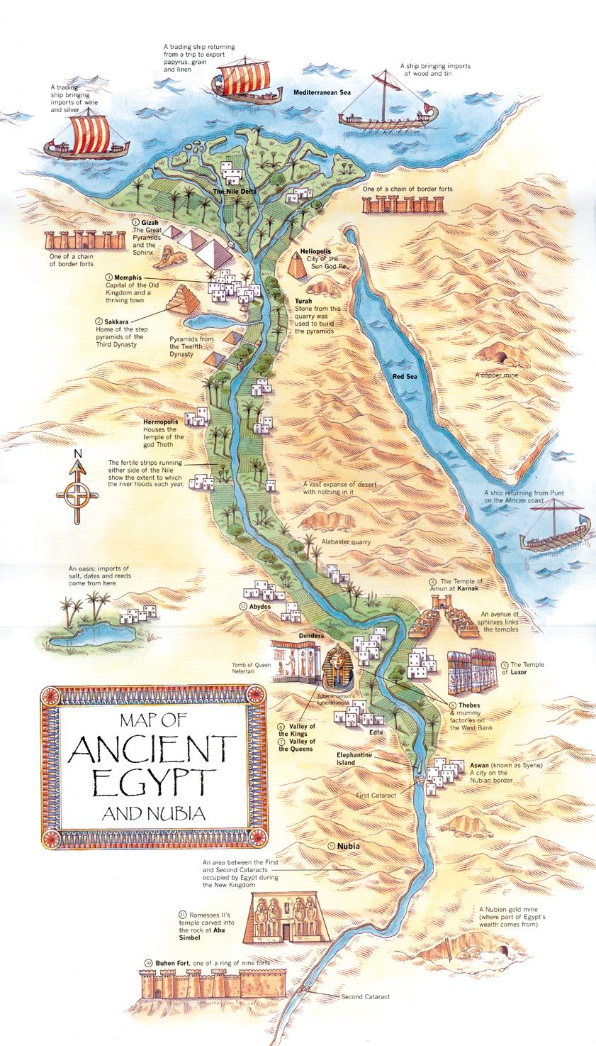 AncientEgyptMap jpg JPEG Image 841x1474 Pixels Pearltrees