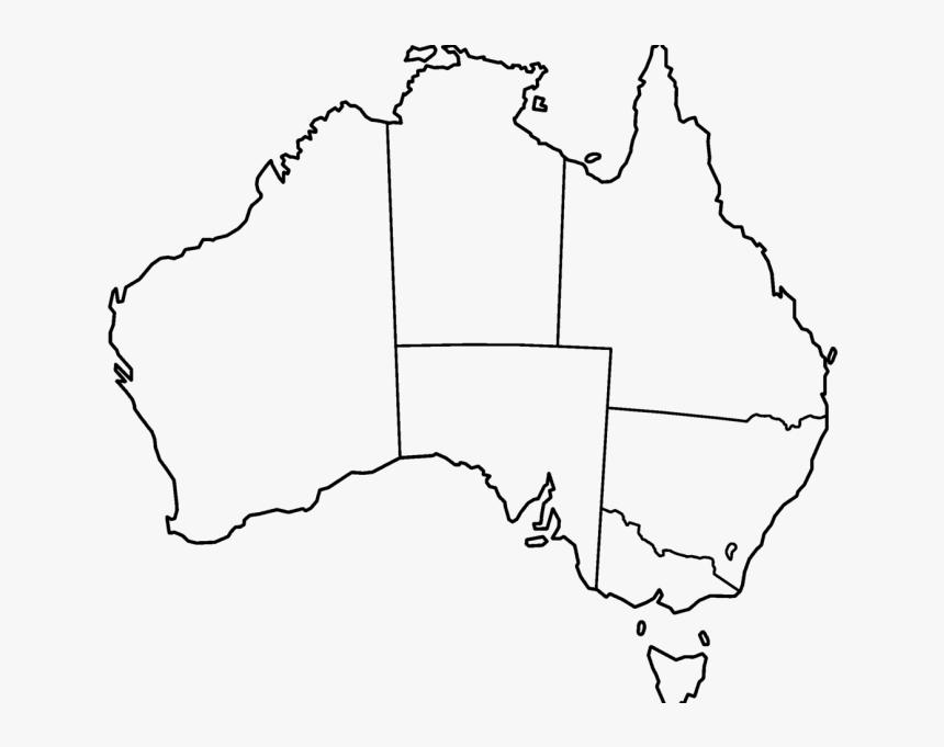 Blank Map Of Australia Printable Printable Blank Map