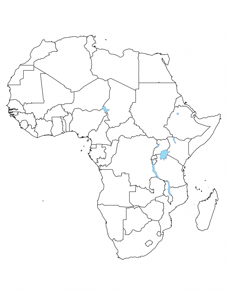 Blank Political Map Of Africa Printable Printable Maps
