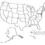 Blank Us Map Dr Odd Geography Map Outline State