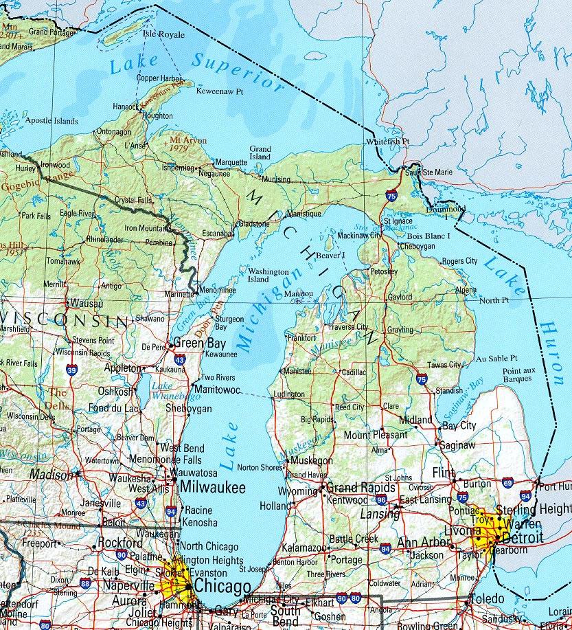 Bo Fexler PI My Town Monday The Upper Peninsula Of Michigan