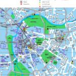 Cambridge Tourist Map