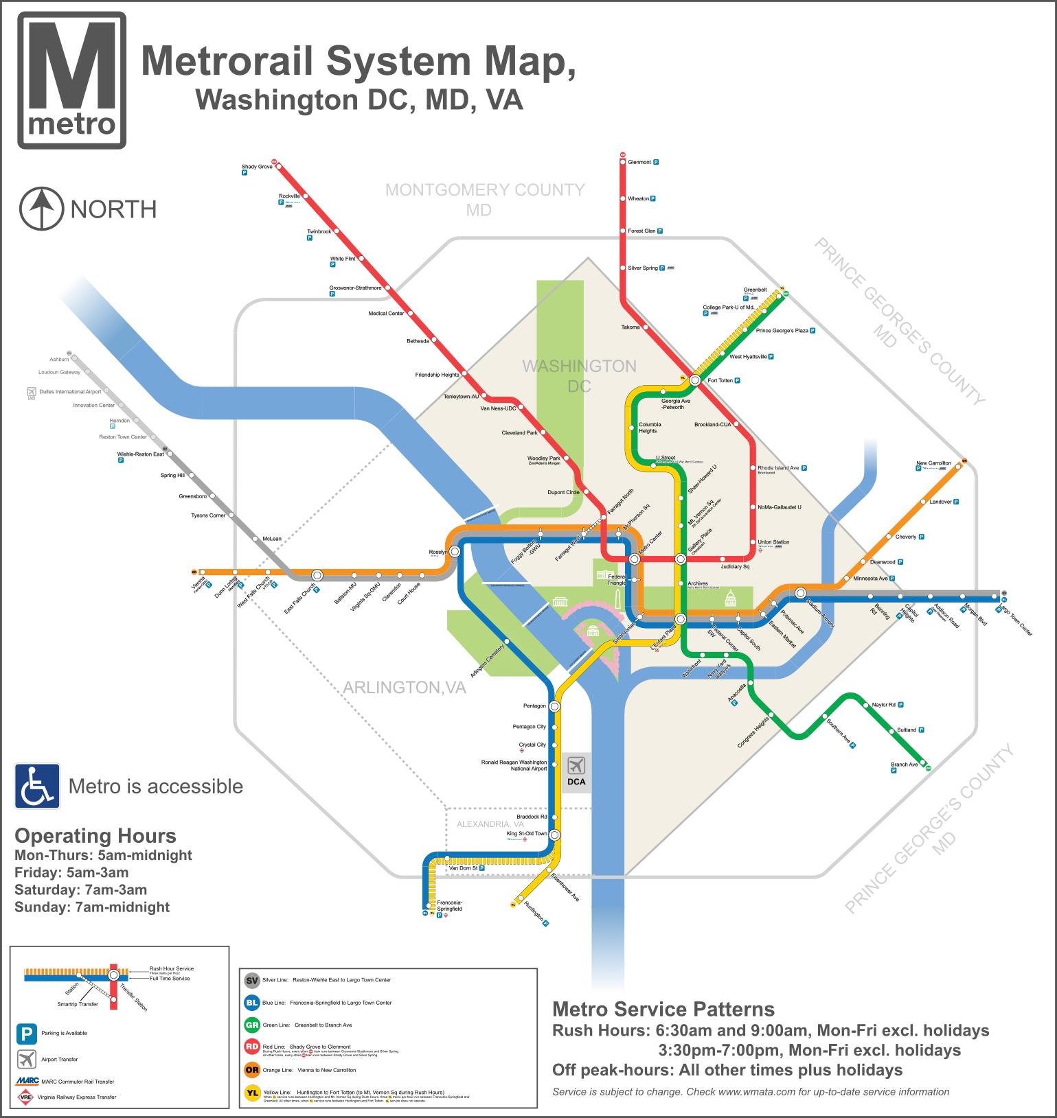 File DC Metro Map 2013 svg Wikipedia