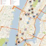 File new York Manhattan Printable Tourist Attractions Map