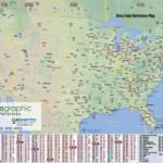 Free Telephone Area Code Map