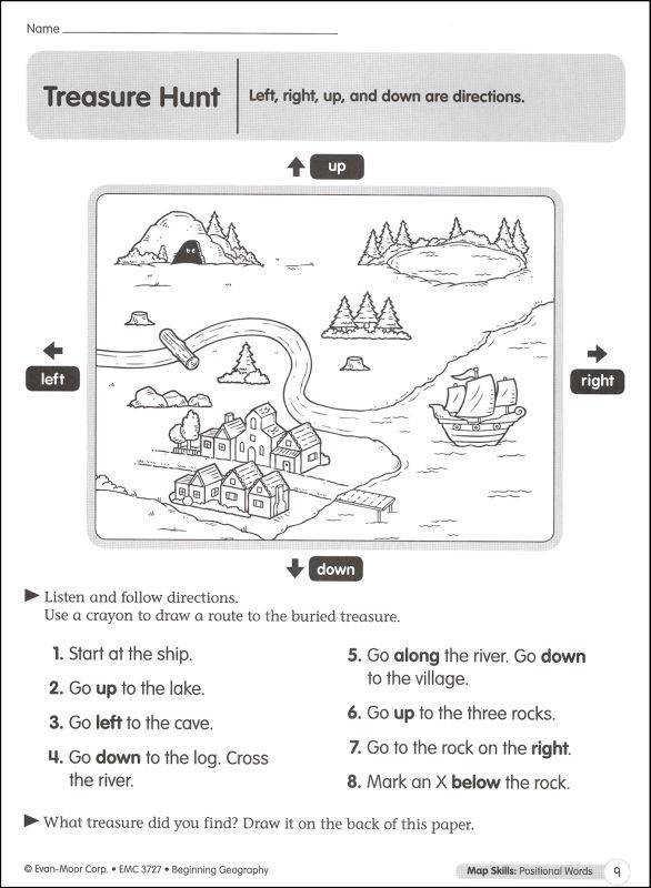 Geography Worksheets Homeschooldressage