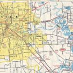 Houston Map Houston On A Map Texas USA