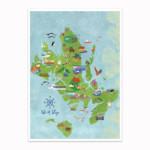 Isle Of Skye Illustrated Map By Kate Mc Lelland Shop