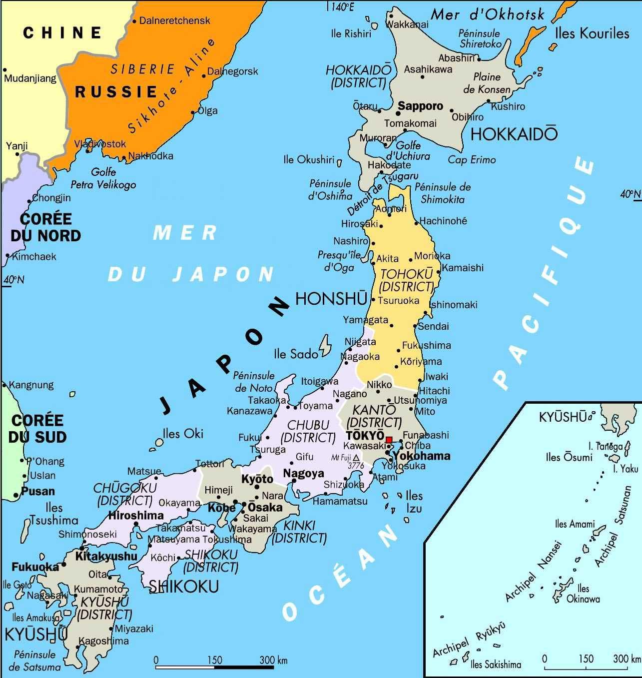 Japan Map Mapsof