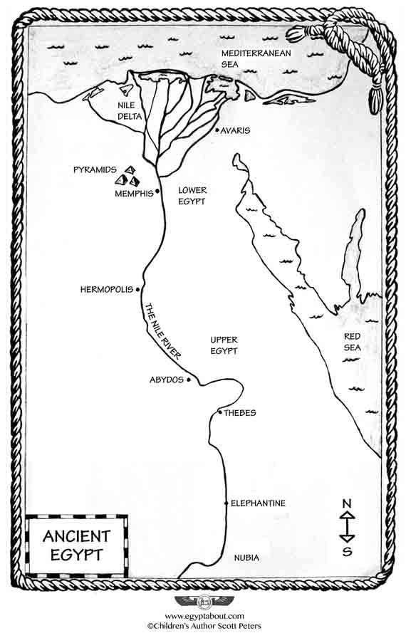KidsAncientEgypt 3 Fun Geography Facts About Egypt
