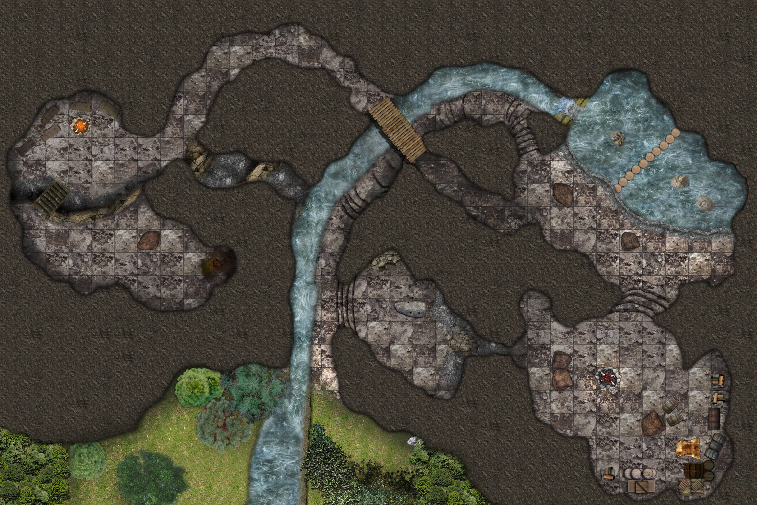 Lost Mine Of Phandelver Cragmaw Hideout And Cragmaw