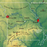 Map Of The State Of Missouri USA Nations Online Project