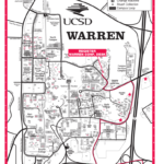 Map Of UCSD Campus Focused On Warren College Canyonview