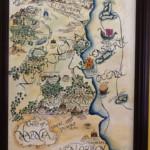 Narnia Map Acrylic Whirlwind Map Of Narnia Narnia
