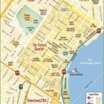 New Orleans French Quarter Map New Orleans French
