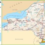New York Highway Map