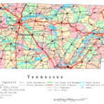 Online Maps Tennessee Map With Cities