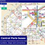 Paris Bus Route Maps With City Street Plan In PDF Or Image