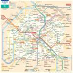 Paris Metro Map The Paris Pass Printable Rome Metro