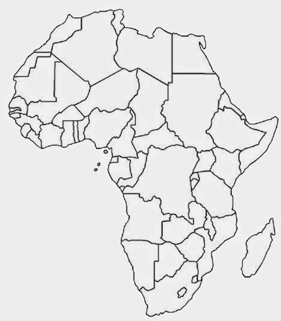Printable Africa Map Free Printable Maps