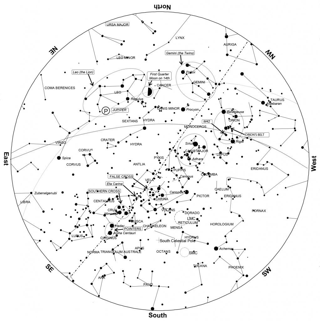 Printable Constellation Map Printable Maps