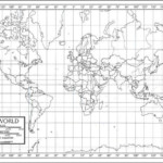 Printable Countries World Map With Latitude And Longitude