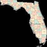 Printable Florida Map FL Counties Map