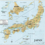Printable Map Of Political Physical Maps Of Japan Maps