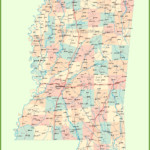 Road Map Of Mississippi With Cities Map Printable Maps