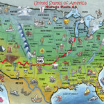 Route 66 Map List Of Love