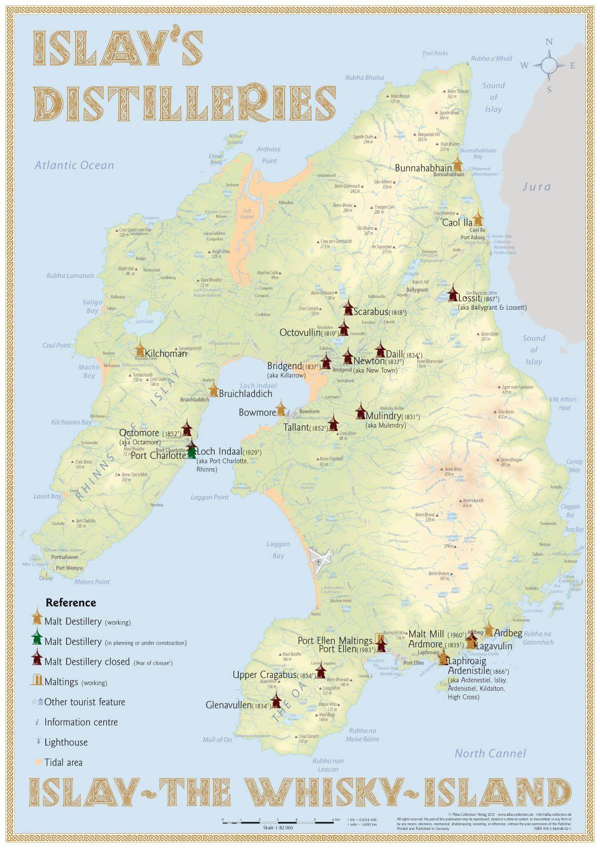 Scotland s Isle Of Islay s Whisky Distilleries