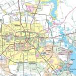 Show Map Of Houston Texas Printable Maps