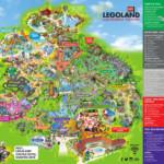 Six Flags Great America Printable Park Map Printable Maps