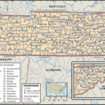 Tennessee Map Free Large Images