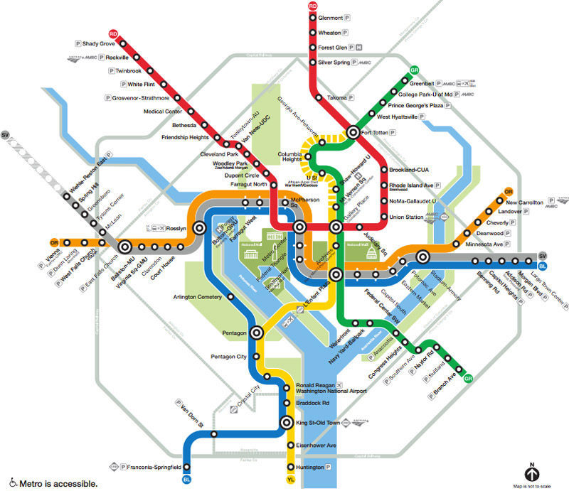 The Washington DC Metro System Guide