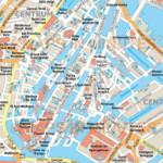 Vector Amsterdam City Map In Illustrator And PDF Digital