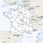 Vector Map Of France Political One Stop Map