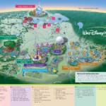 Walt Disney World Resorts Resort Map Disney World