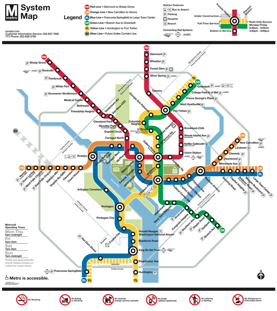 Washington D C Metro Thoughts From Arnold