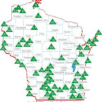 Wisconsin State Parks Forests Recreation Areas Scroll