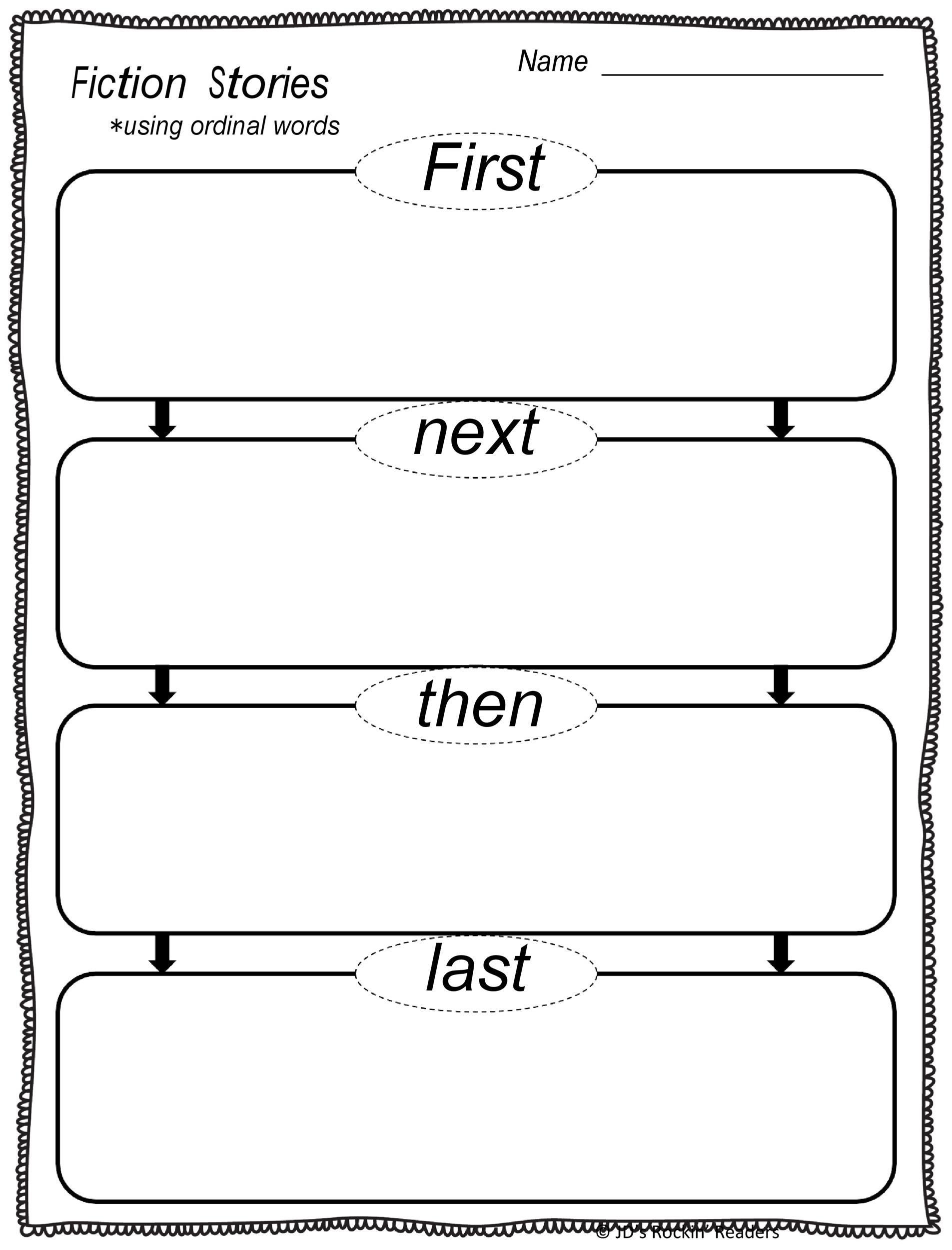 41 Free Printable Story Map Templates PDF Word