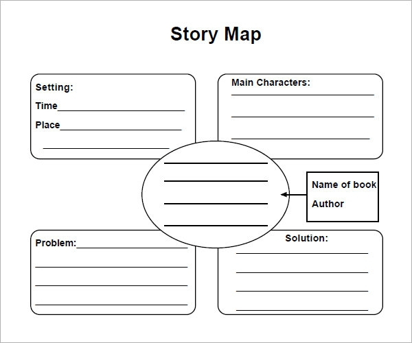 8 Sample Story Map Templates To Download Sample Templates