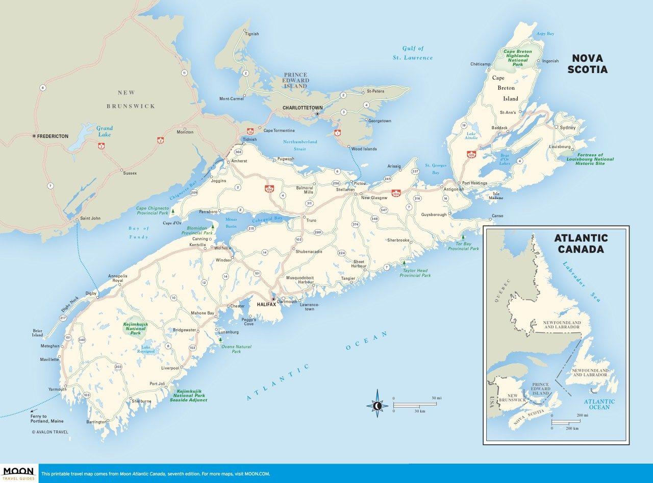 Atlantic Canada Atlantic Canada Nova Scotia East Coast