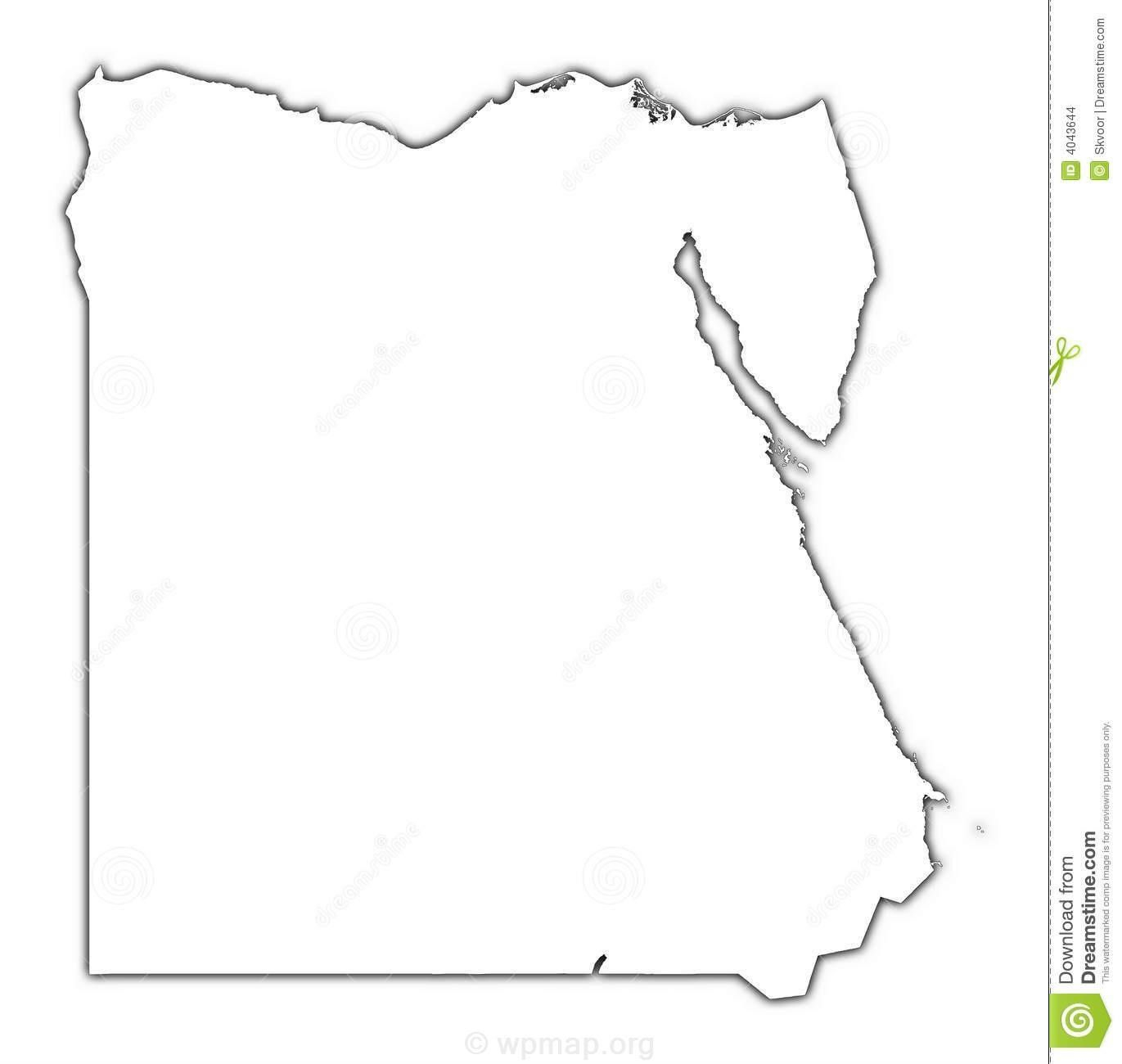 Blank Map Of Egypt Check More At Egypt Map Political