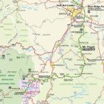 Blue Ridge Parkway Map NC