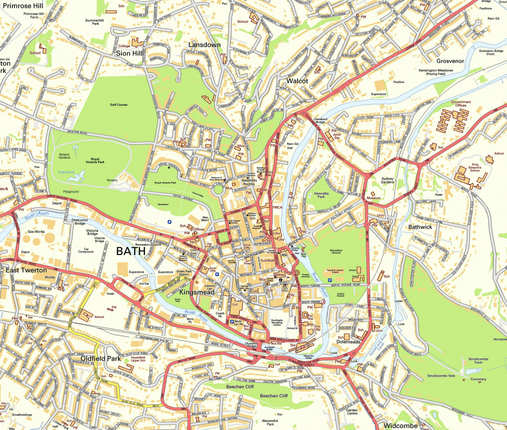 Bristol City Centre Map Printable Printable Maps