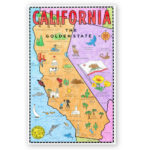 California Map Mural Art Projects For Kids