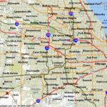 Chicago Suburbs Map Pinotglobal