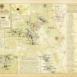 Colorado Fourteener s 11 X 14 Elevation Table Map By