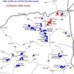 Colorado Fourteeners Map Rex s Colorado 14er Map Routes